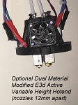 Zillastruder Dual Modified Genuine E3d Oscillating Height Hotend
